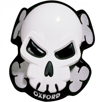 Слайдеры для штанов Oxford Skull White