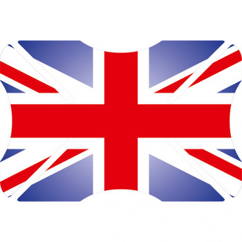 Бампер на шлем Oxford Union Jack
