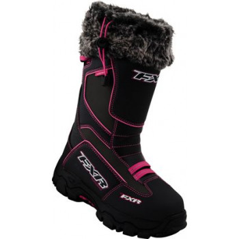 Мотоботы FXR Excursion Boot Black Fuchsia 37 (7)