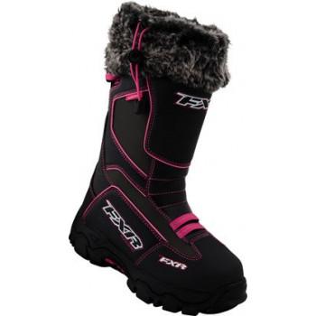 Мотоботы FXR Excursion Boot Black Fuchsia 39 (9)