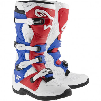 Мотоботы Alpinestars Tech 5 White-Red-Blue 43 (2015)