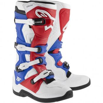 Мотоботы Alpinestars Tech 5 White-Red-Blue 44 (2015)