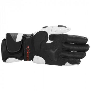 фото 2 Мотоперчатки Мотоперчатки ALPINESTARS SP-1 (355810) Black-White XL