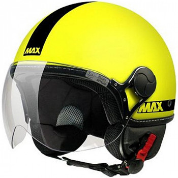 Мотошлем New-Max Power Hi-Vis Matt YellowS