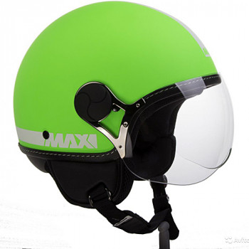 Мотошлем New-Max Power Hi-Vis Matt Green M