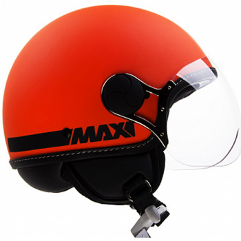 Мотошлем New-Max Power Hi-Vis Matt Orange S