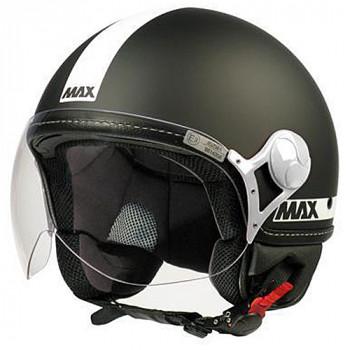 Мотошлем New-Max Power Matt Black L