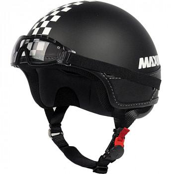 Мотошлем New-Max Slim Matt Black S
