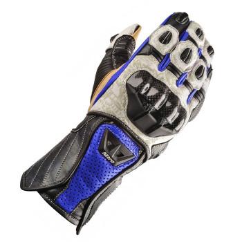 Мотоперчатки Nitro NG-102 Pro Black-Blue-White M