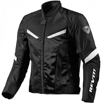 фото 1 Мотокуртки Мотокуртка REVIT GT-R AIR текстиль Black-White XS