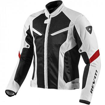 Мотокуртка REVIT GT-R AIR текстиль White-Black M