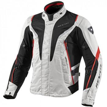 Мотокуртка REVIT VAPOR текстиль Silver-Red XL