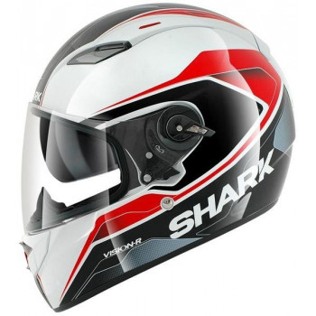 Мотошлем Shark Vision-R Syntic ST White-Black-Red L