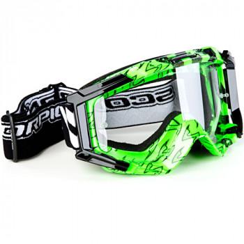 Мотоочки Scorpion Neon Green-Black