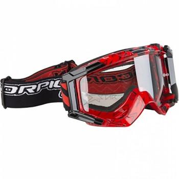 Мотоочки Scorpion Neon Red-Black