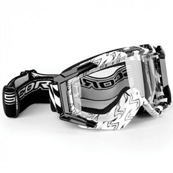 Мотоочки Scorpion White-Black