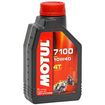 Моторное масло Motul 7100 4T SAE 10W40 (1L)