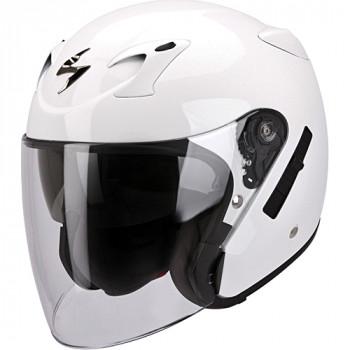 Мотошлем Scorpion Exo-220 White M