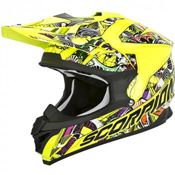 Мотошлем Scorpion VX-15 Evo Air Vector Neon Yellow-Multi M