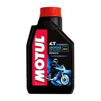 Моторное масло Motul 3000 4T 20W-50 (1L)