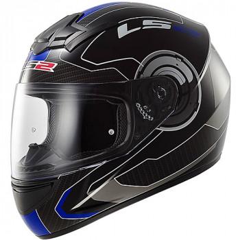 Мотошлем LS2 FF352 Rookie Atmos Black-Blue Gloss M