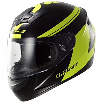 Мотошлем LS2 FF352 Rookie Fluo Black-Hi-Vis-Yellow XL