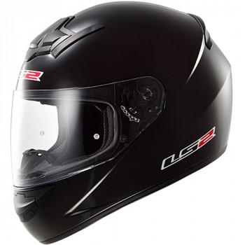 Мотошлем LS2 FF352 Rookie Single Mono Black Gloss S