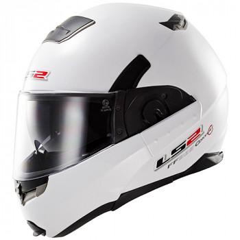 Мотошлем LS2 FF393 Convert White Gloss M