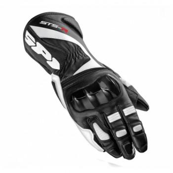Мотоперчатки женские Spidi Sts-r Leather Black-White S