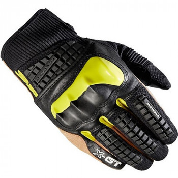 Мотоперчатки кожаные Spidi X-GT Acid Green-Black S