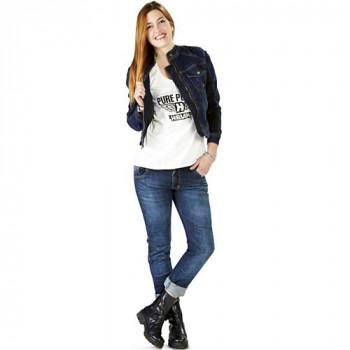 фото 2 Мотокуртки Мотокуртка женская джинсовая Kappa Hevik Summer M