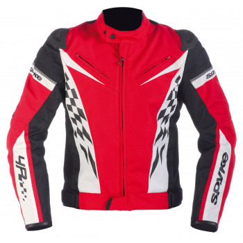Мотокуртка Spyke 4 Race GT Polyester Red-Black-White 50