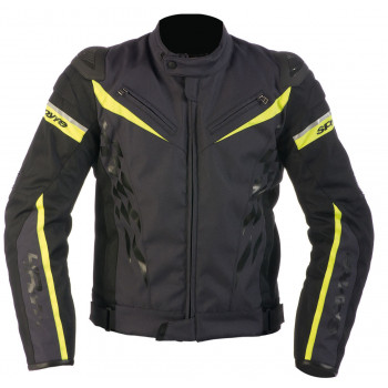 Мотокуртка Spyke 4 Race WP Polyester Black-Yellow 50