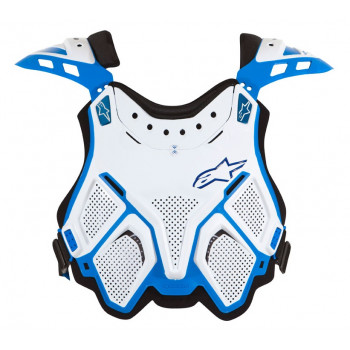 Защита груди Alpinestars A-10 MX Chest Protector 27 White-Blue Multisize
