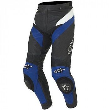 Мотоштаны Alpinestars Apex Black-Blue 46