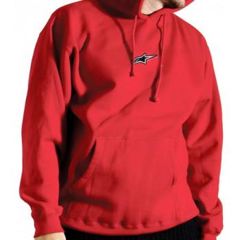 Мотокофта детская Alpinestars Hooded Fleece Red 30