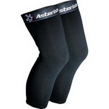 Чулки под наколенники Asterisk Banded Undersleeves Black XL