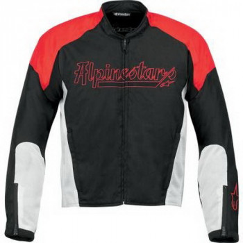 Мотокуртка Alpinestars Force AF Black-Red-White L