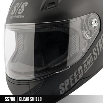 Визор на шлем Speed & Strength SS7/10/11/15 Clear