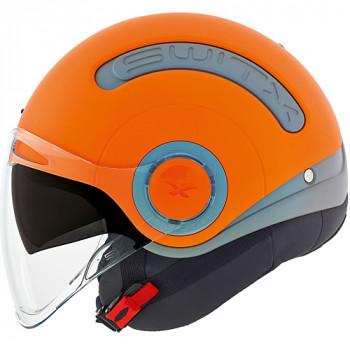 Мотошлем Nexx SX.10 Grey-Orange M
