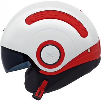 Мотошлем Nexx SX.10 White-Red S