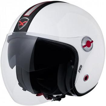 Мотошлем Nexx X70 Groovy White-Black 3XL