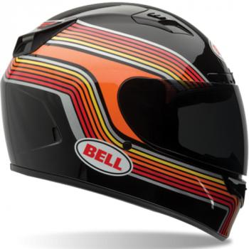 Мотошлем Bell Vortex Band Black Orange XL