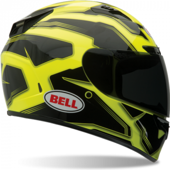 Мотошлем Bell Vortex Manifest Black-Yellow XL