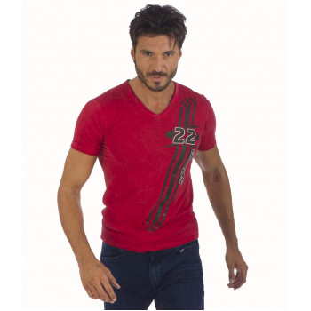 Футболка Spyke C2 The Original Bikers Jeans Collection Red M