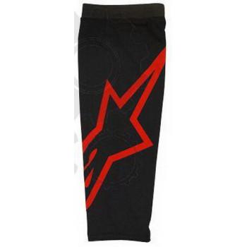 Бандаж под наколенники и налокотники Alpinestars Knee Sleeve Black-Red S/M