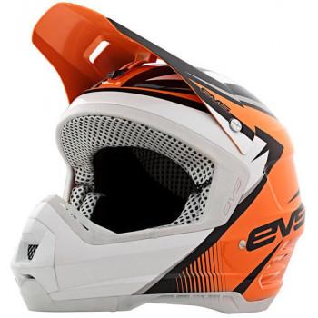 Мотошлем EVS T5 GP Orange-White-Black XL