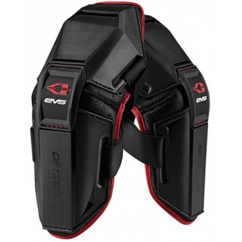 Мотоналокотники EVS Option Black-Red