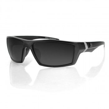 Мотоочки Bobster Whiskey Ballistic Polarized Black