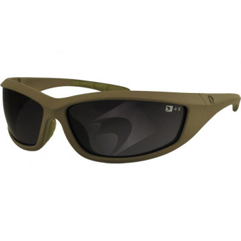 Мотоочки Bobster Zulu Ballistic Anti-Fog Smoked Lens Matt Green
